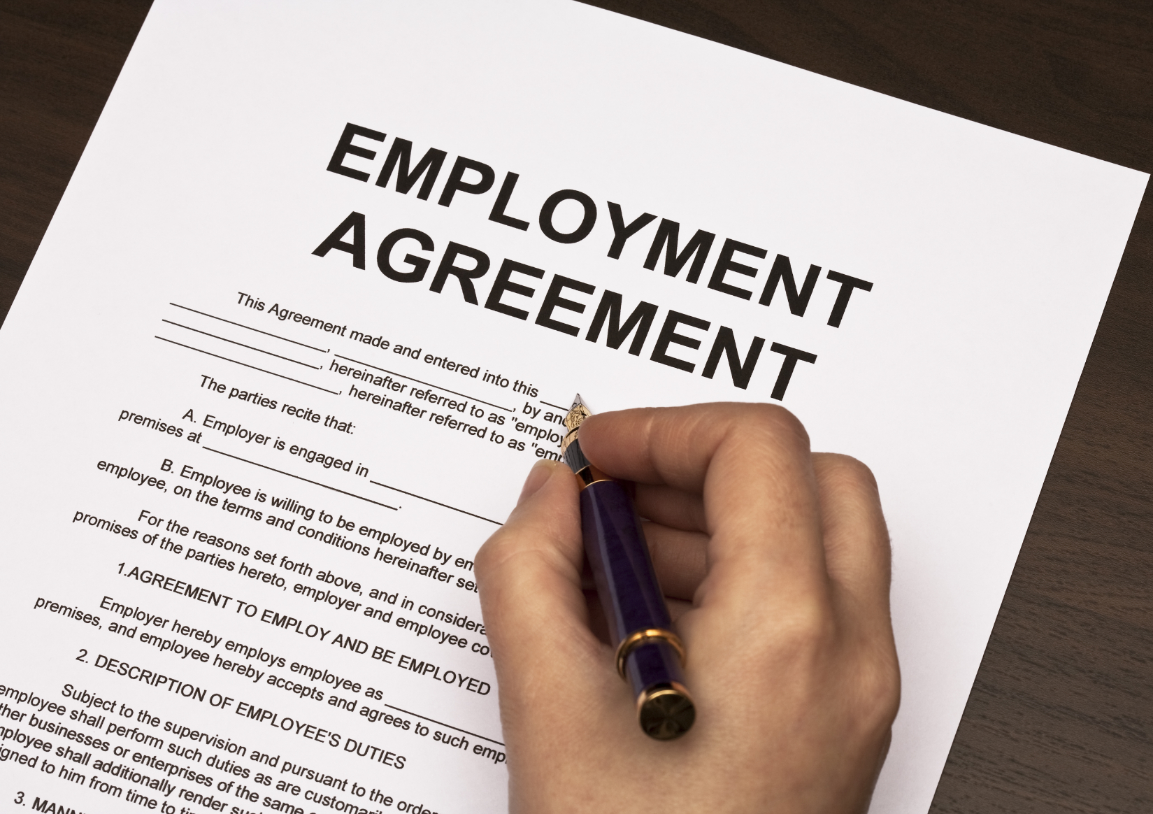 Employment - Dominic McInerney Solicitors